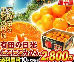 和歌山産みかん10kg2,800円