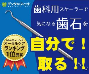 歯科医院専売品のデンタルフィット・歯石取スケーラー